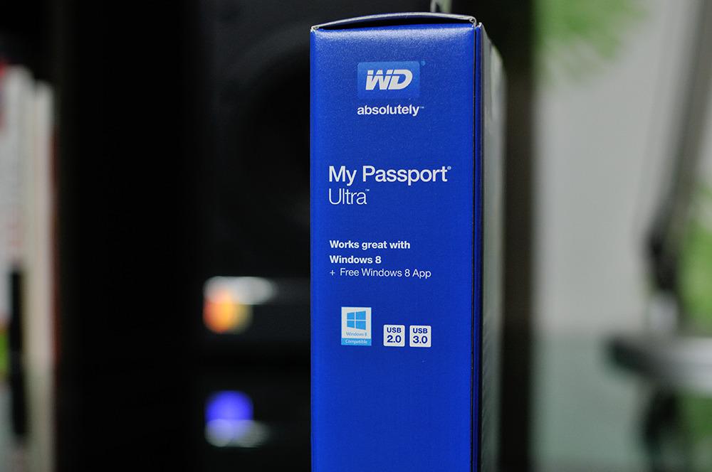WD My Passport Ultra 2TB