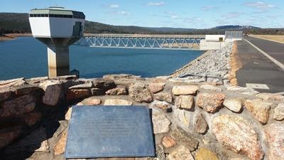 Harvey Dam 4월 25일