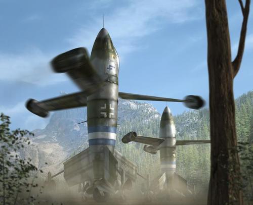 포케불프 트리엡플뤼겔 Focke-Wulf Fw Triebflügel