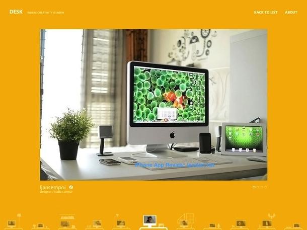 DESK - where creativity is born - for iPad 책상 작업실 아티스트