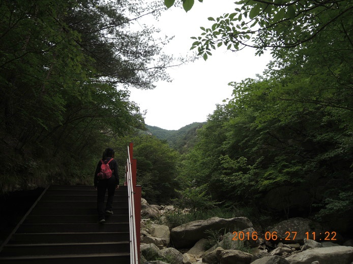 포천 명성산 등산코스 등산지도