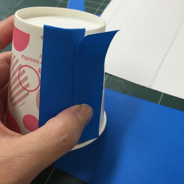 종이컵으로 풍차 만들기