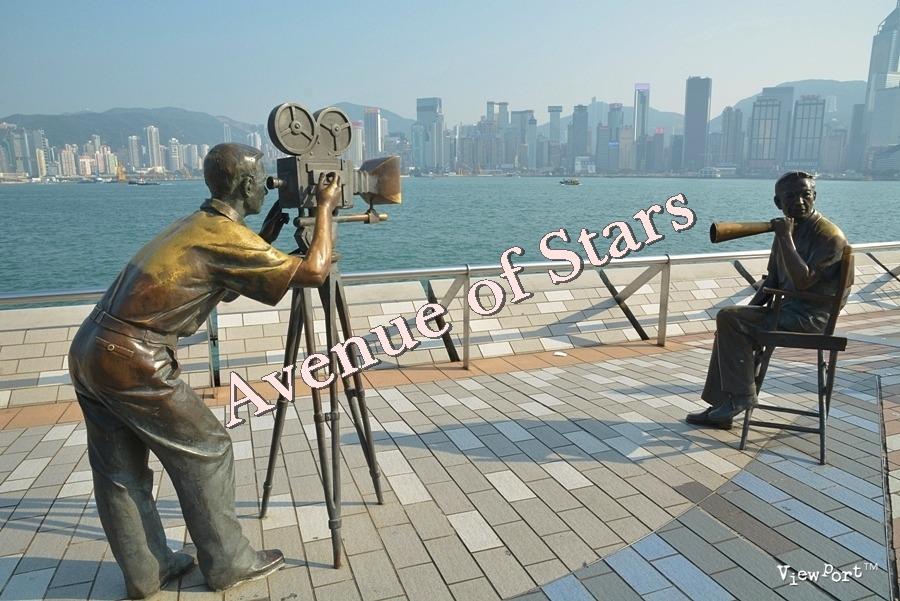 홍콩여행] 침사추이 스타의 거리(Avunue of Stars 星光大道)를 걸어봐요 - 홍콩 가볼만한 곳