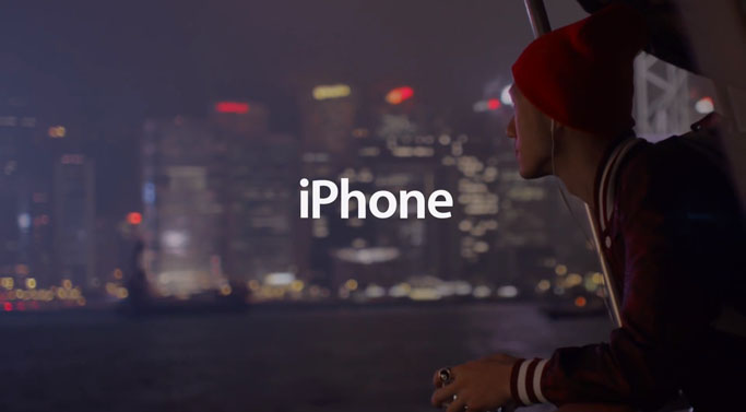Apple Iphone  Commercial
