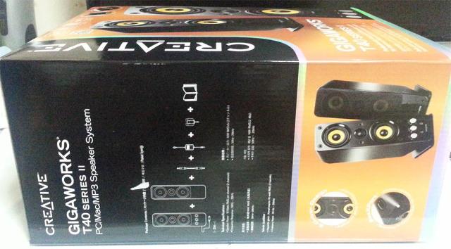 2채널 스피커 추천 크리에이티브 기가윅스 T40 II 간단 개봉 및 사용기