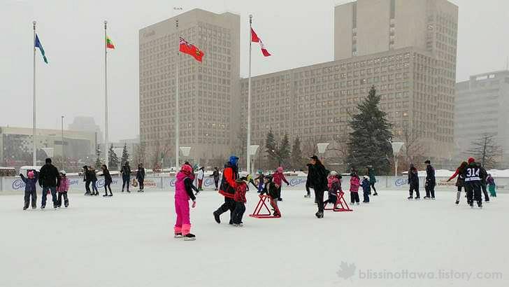 캐나다 겨울 스포츠 문화 입니다