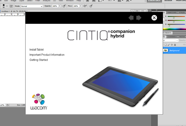 WACOM Cintiq Companion Hybrid