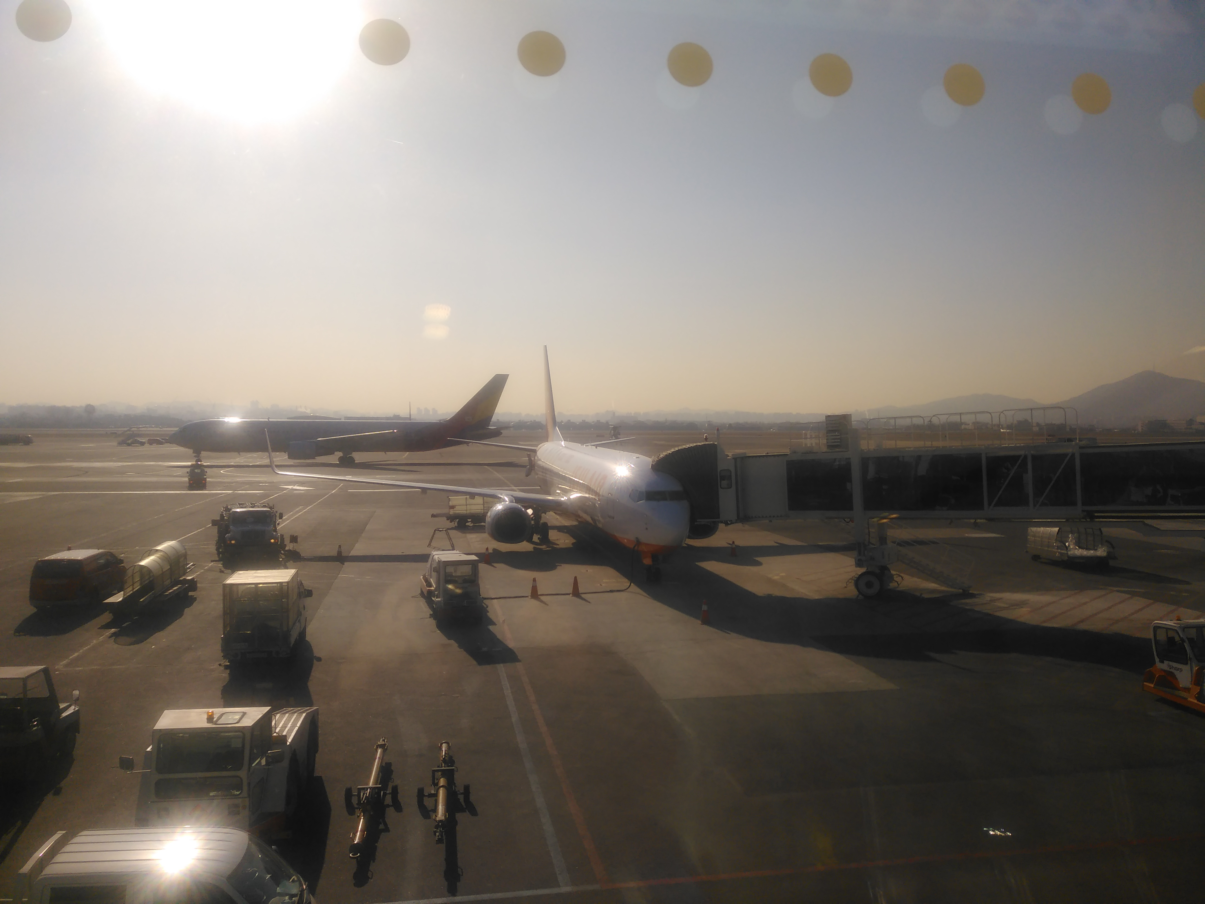 김포공항 대기실