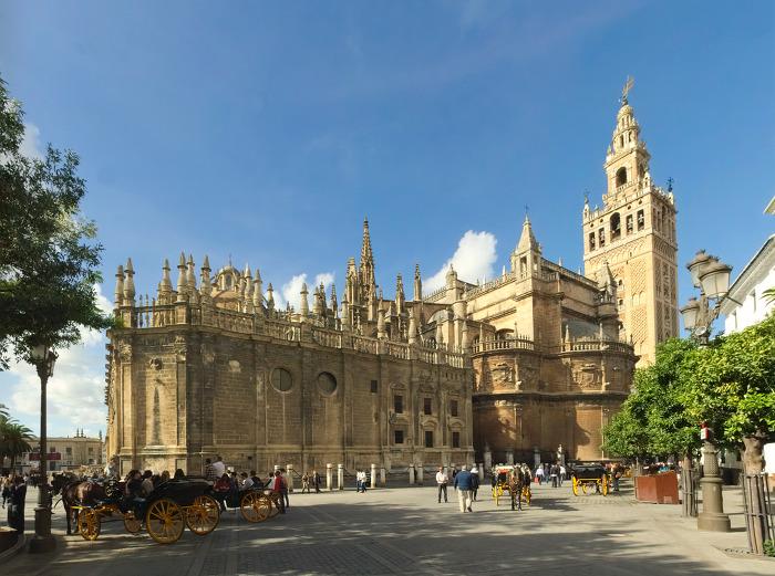 세비야 대성당 Sevilla Cathedral 외부
