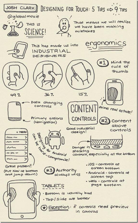 터치기기를 위한 디자인 팁 9가지