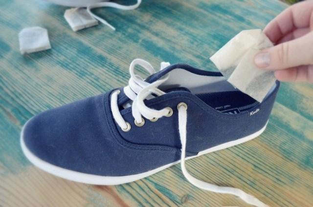 신발냄새없애는방법 녹차 티백 재활용법