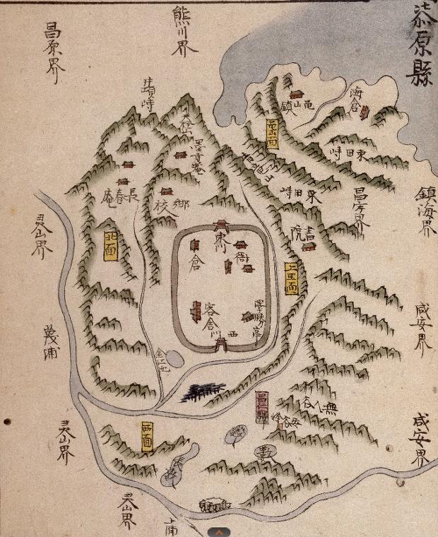 고지도로 보는 창원 12. - 칠원현 輿地圖