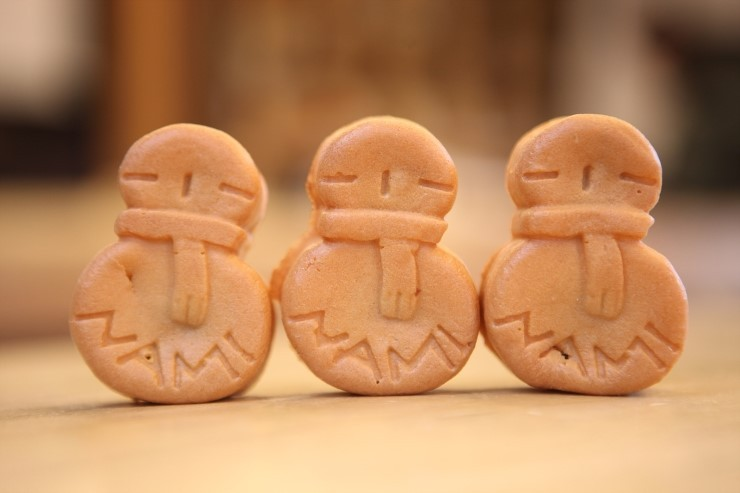 Image result for 눈사람빵