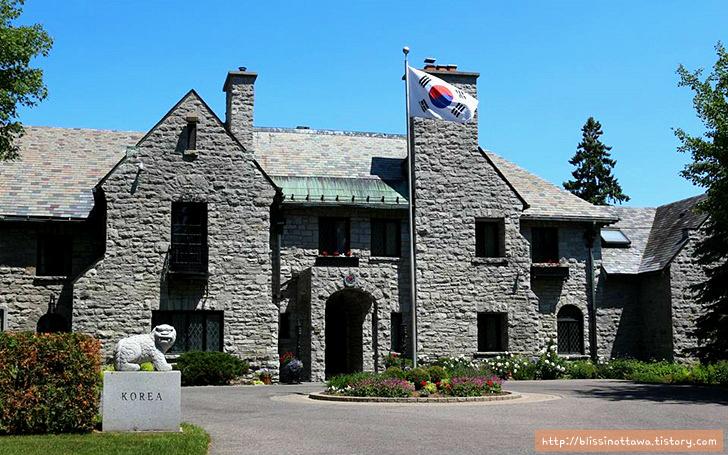 캐나다 부자 동네 한국 대사관저