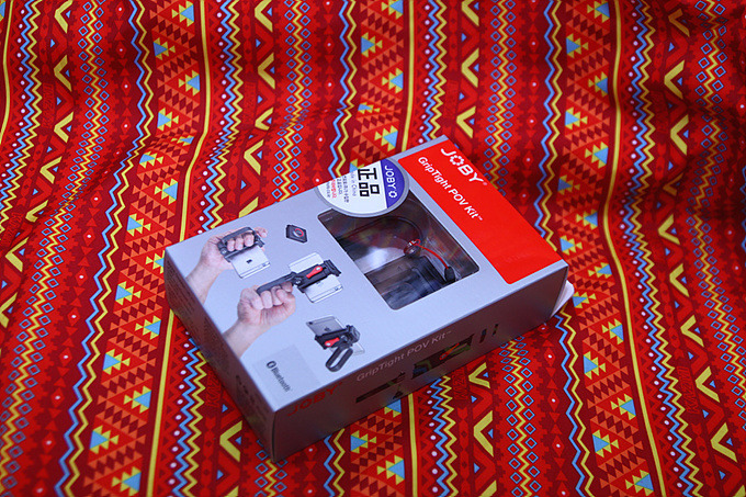 스마트폰 핸드그립 JOBY GripTight POV Kit