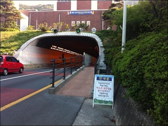 안민터널, 자전거 도로 폐쇄 말고 승용차 억제 정책 세워야...