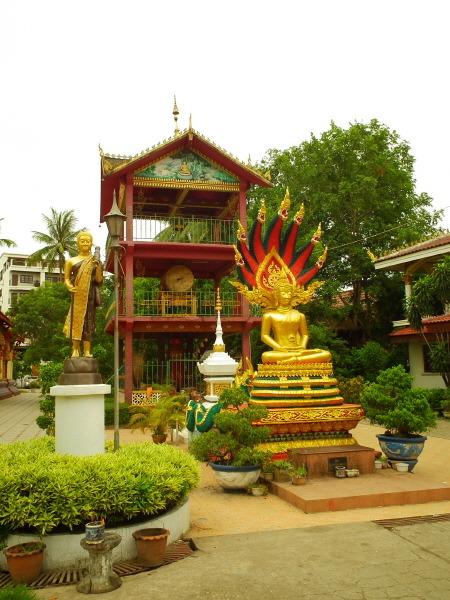 Wat chan in Vientiane, Laos