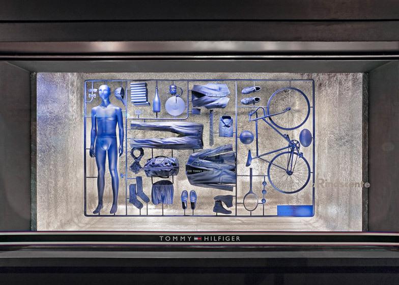 [ Fabio Novembre ] I Have a Lifestyle model-kit window installation_Tommy Hilfiger