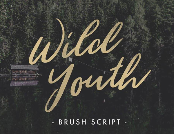 Wild Youth – Free Brush Font