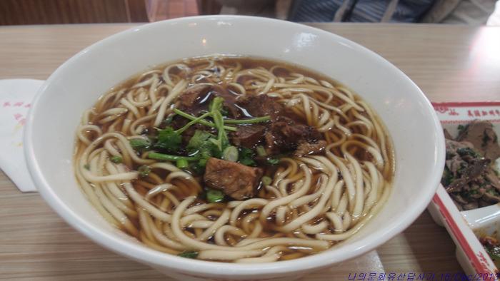 [중국 칭다오(Qingdao] 우육면(牛肉面, 니우로미엔), 시원한 육수와 면발