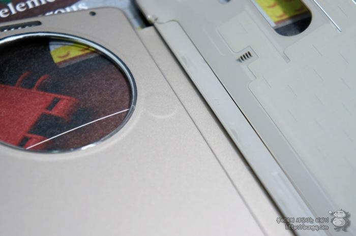 LG G3, 퀵서클케이스, 디자인, 특징, 결합부
