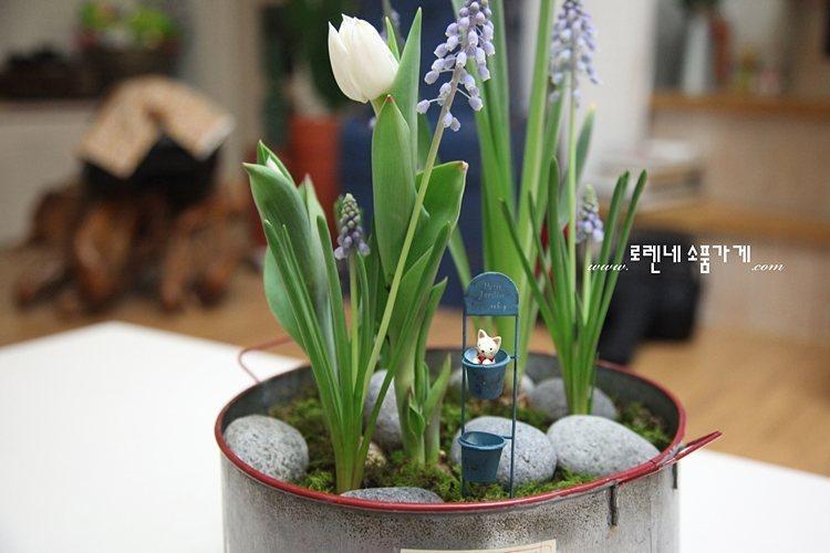 화분에 꽂는 쁘띠 '가든픽' 귀여운 인테리어 소품6