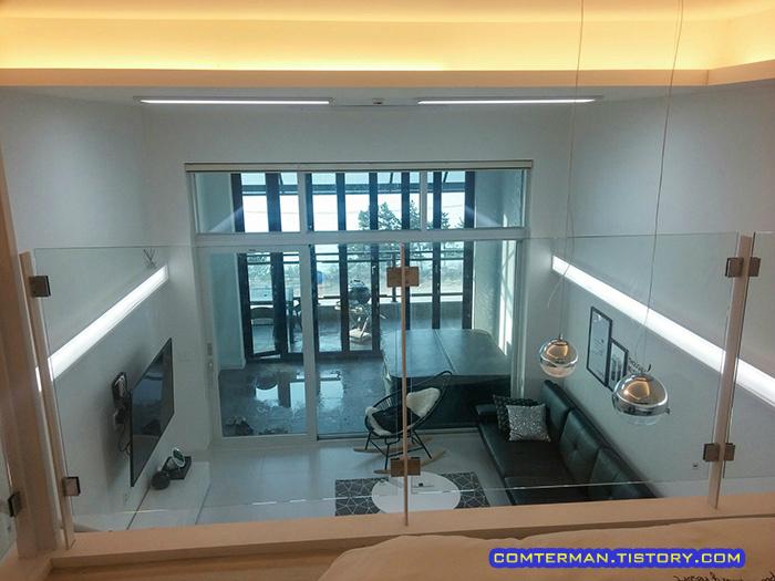 어반하임펜션 2층 객실