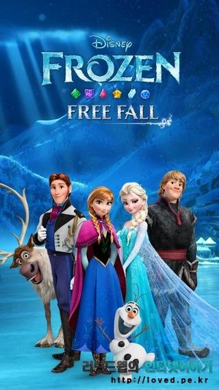 겨울왕국 게임 하트 너무 충전 너무 느리네요 안드로이드 무료 게임 프리즌 프리폴(Frozen Free Fall)