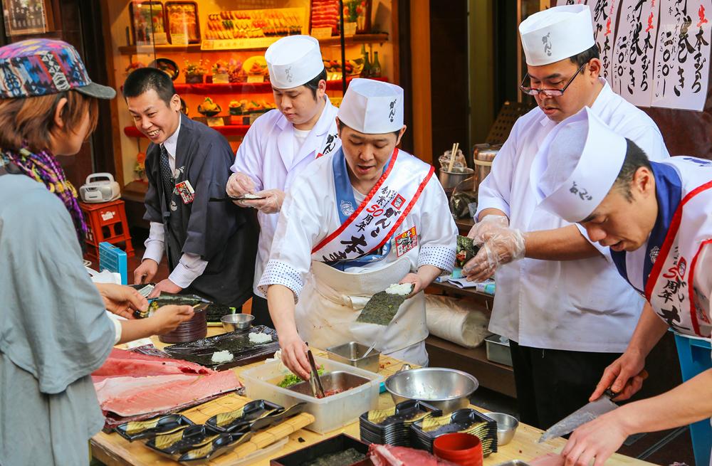 먹다가 쓰러지는 오사카 여행