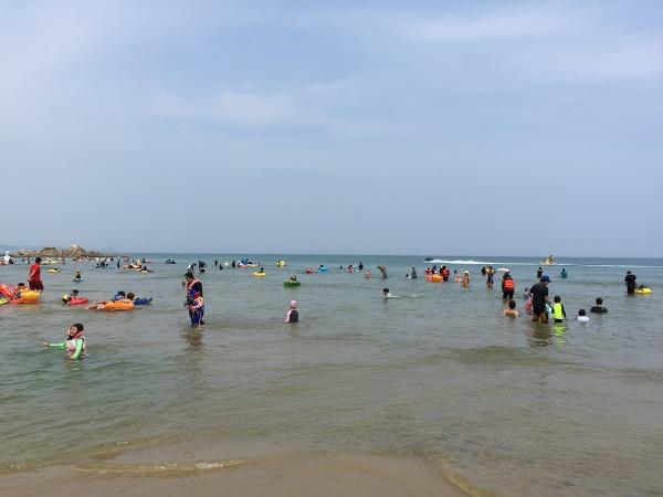 양양 하조대 해수욕장