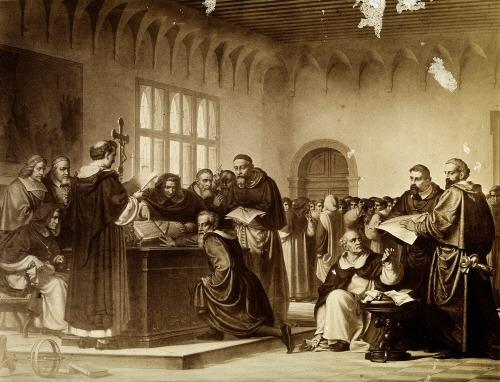 Galileo Galilei religious trial