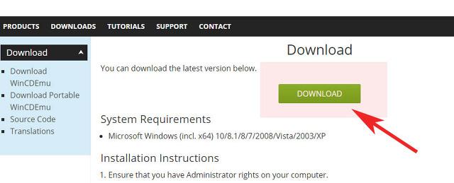 ISO 파일 실행 열기 방법 데몬없이 사용 가능