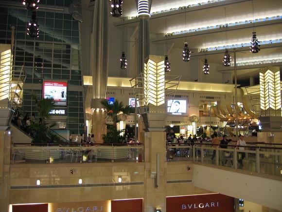 8. 타이베이101빌딩 실내모습