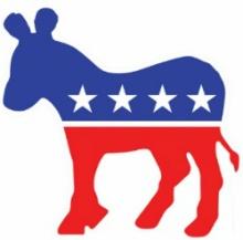 미국 민주당 로고 Democratic Party Logo