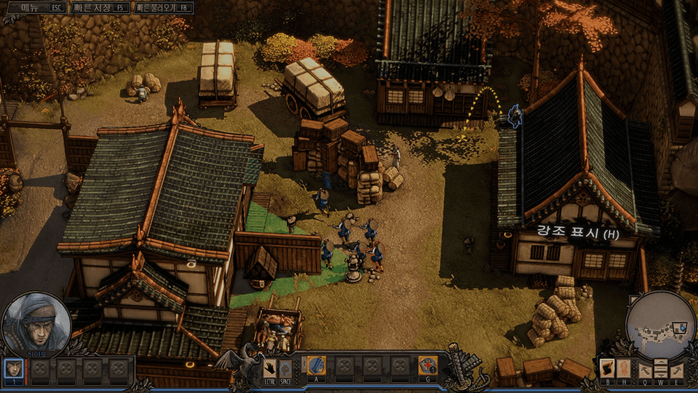 섀도우 택틱스 공략 - 미션 1: 오사카 성 (Shadow Tactics Walkthrough: Mission 1)