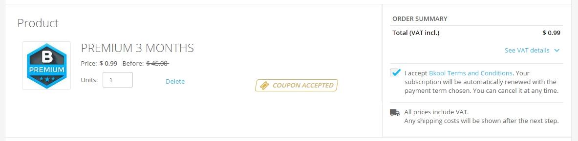 3개월간 $45가 아닌 $0.99로 이용 가능~!!!