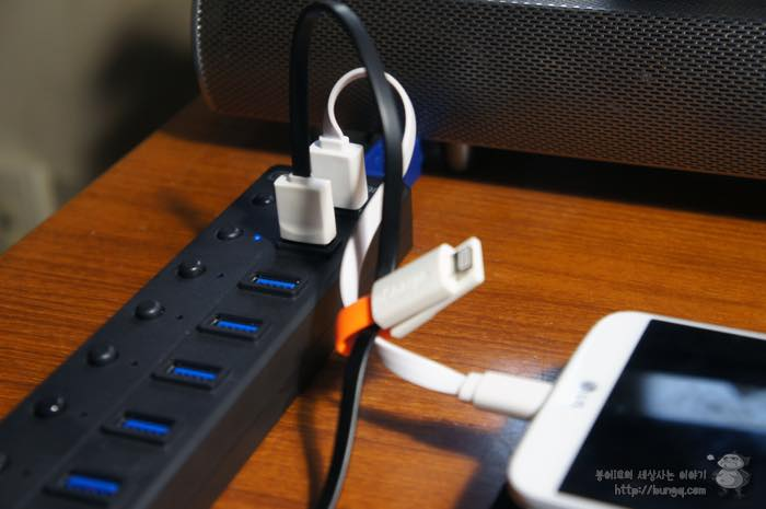 USB 허브, 추천, USB3.0 허브, 유전원, 충전, NEXT UH308, 활용, 장점, 단점