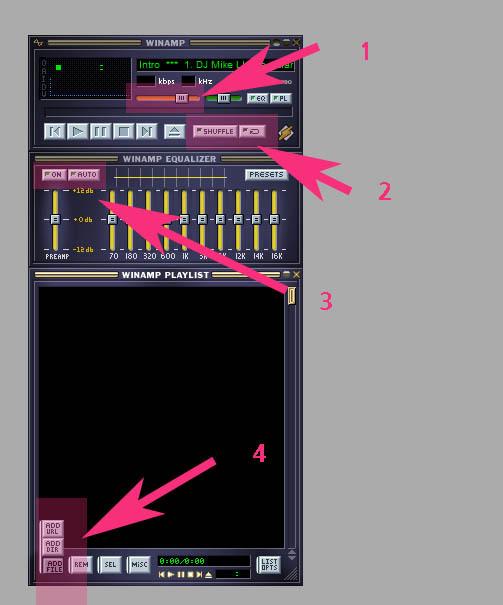 음악,오디오 mp3 추천 플레이어 윈앰프(winamp) 최신버전 다운 및 사용방법