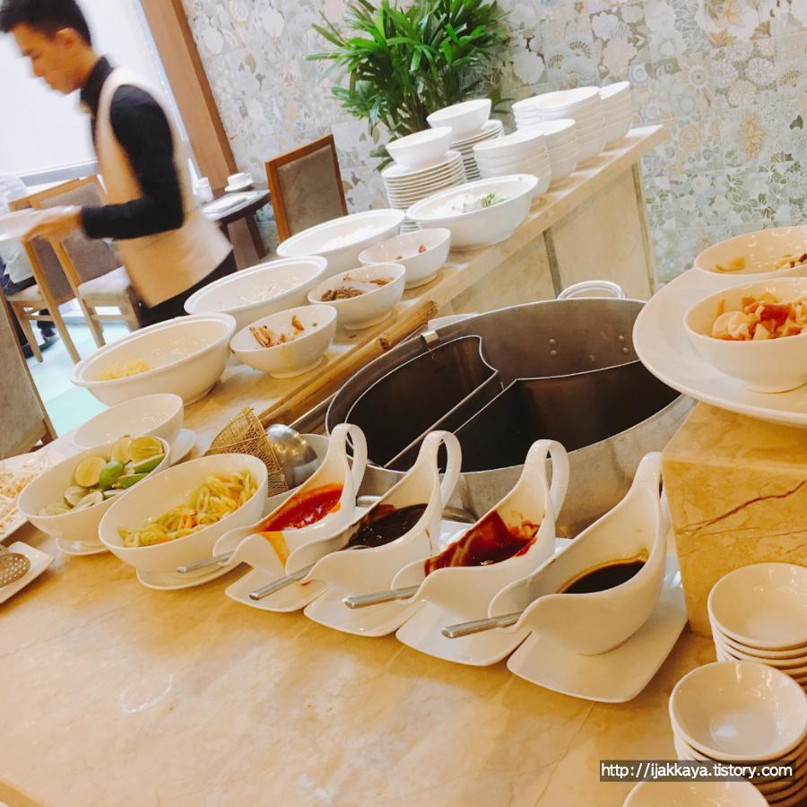 베트남 호텔 쌀국수