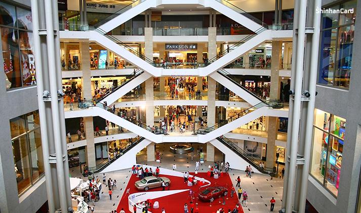 말레이시아 쿠알라룸푸르 파빌리온 쇼핑센터