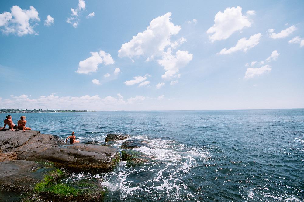 <미국_로드아일랜드주> 북대서양을 보며