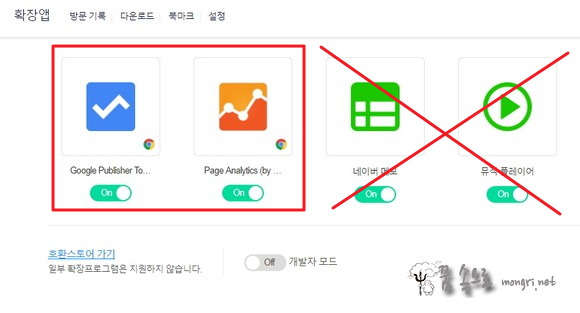 네이버 웨일 확장앱