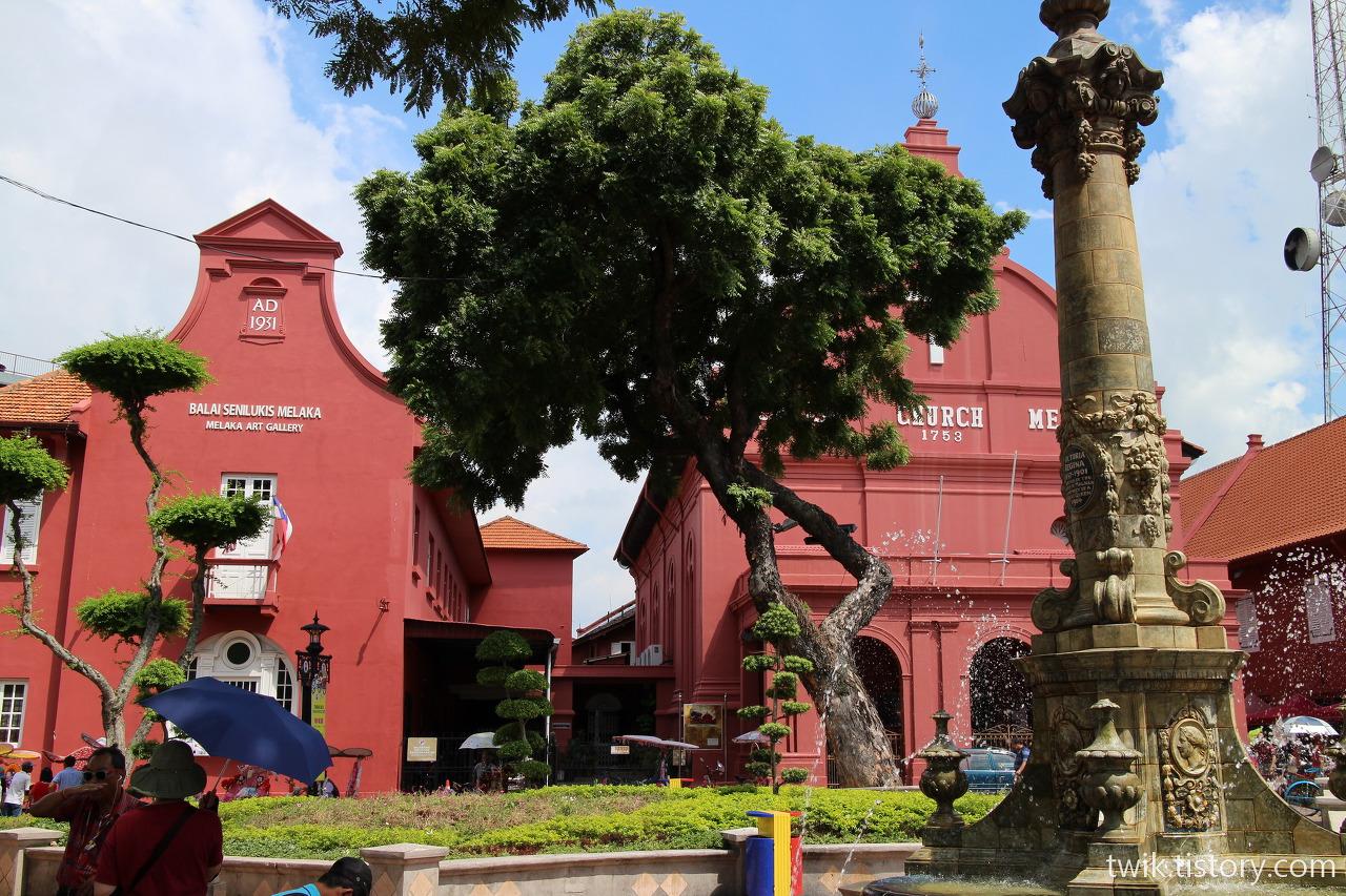 말레이시아 말라카(Melaka) – 네덜란드 광장과 주변 볼거리