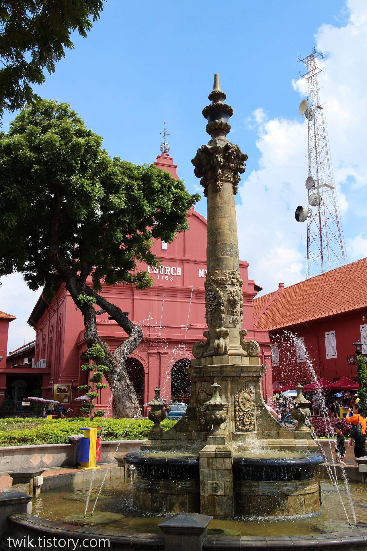 싱가포르에서 말레이시아 말라카(Melaka)로 이동
