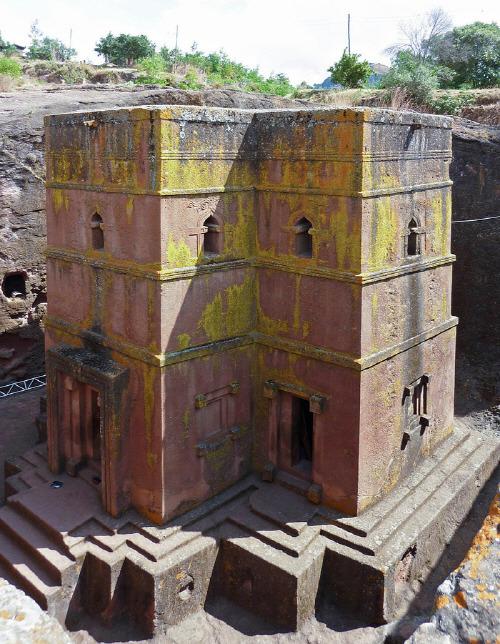 에티오피아 랄리벨라 교회(Lalibela Churches)