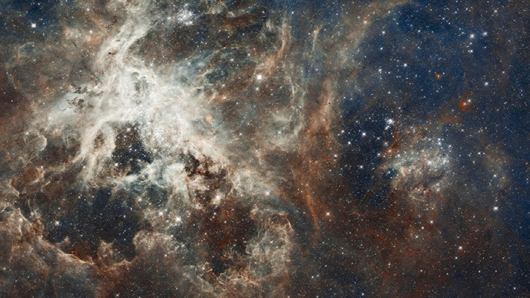 Heart of the Tarantula Nebula