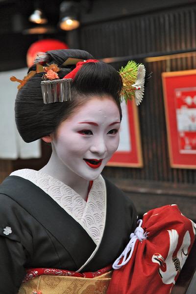 오하구로(お齒黑) Japanese-woman-blackening-teeth-Ohaguro Photo