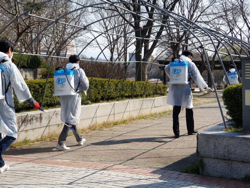 전주시, 착한 소독운동·사회적 거리두기 '집중'