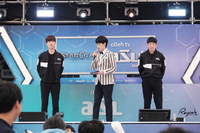 올레tv ASL 시즌5 결승전 직관 정윤종 vs 장윤철