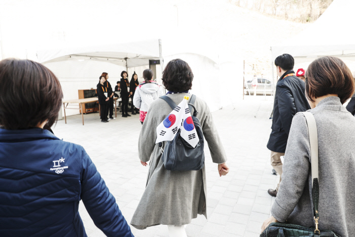 [포토 뉴스] '평창의 김 여사' 내일은 어디로?